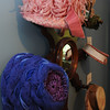 Peabody:<br /> Top, is a hat from the 1950s and the bottom left, is a hat from the 1960s which are part of the Hats Off to History and Art exhibit.<br /> Photo by Ken Yuszkus/Salem News, Thursday, July 7, 2011.