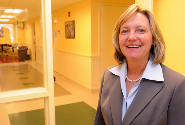 Beverly:<br /> Colleen Dolan is the new executive director of the North Shore Education Consortium.<br /> Photo by Ken Yuszkus/Salem News, Monday, April 12, 2010.