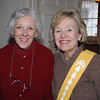 Salem:<br /> From left, Jane Faulkner of Marblehead and Joy Snell of Salem, usher, attend the lecture series in Hamilton Hall.<br /> Photo by Ken Yuszkus/Salem News, Thursday, March 4, 2010.