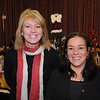 Salem:<br /> Lisa Cammarata of Salem, left, and Linda Pereira of Danvers, at the first annual Holly Fair at the Salem Moose Family Center presented by The Mack Park Neighborhood Association and The Salem Moose Family Center. <br /> Photo by Ken Yuszkus/Salem News,  Saturday,  November 6, 2010.
