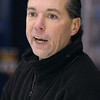 Peabody:<br /> Bishop Fenwick's head coach Dan Lynch at practice at McVann-O'Keefe Rink.<br /> Photo by Ken Yuszkus/Salem,  News, Tuesday,  December 21, 2010.