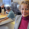 Lynn:<br /> Swampscott resident Sandra Rhoads owns Starlight Creatives. Sandra started baking and decorating cookies in her Swampscott home. Seven years later, her cookie business is booming. <br /> Photo by Ken Yuszkus/Salem News, Thursday,  December 9, 2010.