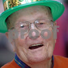Danvers:<br /> T. Frank Tyrrell of Danvers, is in the spirit of St. Patricks Day with his green hat. The seniors had corned beef, boiled cabbage, Irish soda bread, potatoes and carrots after the program of Irish step dancers from Salem plus Glenshane entertainers.<br /> Photo by Ken Yuszkus/Salem News, Tuesday, March 17, 2009.