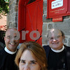 Salem:<br /> From left, Rev. Daniel Velez-Rivera, Rev. Rebecca Crane, and Rev. Paul Bresnahan stand in front of St. Peter's Church. A Hispanic Episcopal congregation is moving into St. Peter's Church.<br /> Photo by Ken Yuszkus/Salem News, Monday, July 6, 2009.