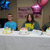 Beverly:<br /> Quadruplets from left, Cullen, Killian, Emma, and Riley Driscoll with their birthday cakes at their 15th birthday party held at Beverly Hospital.<br /> Photo by Ken Yuszkus/Salem News, Friday, July 13,  2012.