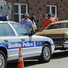 Peabody:<br /> 14 Collins Street in Peabody is where a movie is being filmed with Adam Sandler.<br /> Photo by Ken Yuszkus/Salem News, Wednesday, June 15, 2011.
