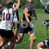Hamilton:<br /> Pingree's Michaela Colbert shoots for the net in the game against Governor's Academy at Pingree. The shot unfortunately missed the goal.<br /> Photo by Ken Yuszkus/Salem News, Saturday May 9, 2009.