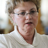 Beverly:<br /> Marie Galinski, the assistant superintendent, will soon be the new Beverly superintendent.<br /> Photo by Ken Yuszkus/Salem News, Friday, February 19, 2010.