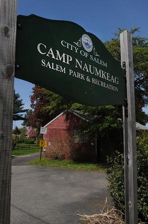 Salem:<br /> Camp Naumkeag in Salem.<br /> Photo by Ken Yuszkus/Salem News, Friday, May 13, 2011.