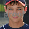 Peabody:<br /> Sean McGrath of the Peabody West Little League team, which won the state title.<br /> Photo by Ken Yuszkus/Salem News, Tuesday, August 4, 2009.