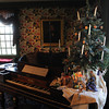 Salem:<br /> The decorated parlor room at the The House of the Seven Gables.  The House of the Seven Gables is offering a special holiday theme tour focusing on the evolution of Christmas from a banned holiday in Puritan times to the holiday we recognize today. <br /> Photo by Ken Yuszkus/Salem News, Wednesday,  December 8, 2010.