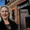 Beverly:<br /> Barbara Alex stands outside Chianti Restaurant and Jazz Lounge, where she hosts an open mike night, Live Jazz Sessions, once a month. <br /> Photo by Ken Yuszkus/Salem News, Tuesday, January 3, 2011.