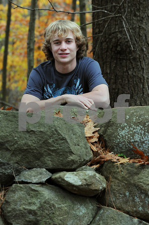 Topsfield:<br /> Eric Whiting is a Masconomet student photographer that will exhibit his photos at the Ipswich River Wildlife Sanctuary.<br /> Photo by Ken Yuszkus/Salem News, Sunday November 1, 2009.