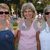Beverly:<br /> Fom left, Ann Driscoll, Liz O'Connell, and Elsa Forter, at the Rep. Mary Grant Annual Homecoming Ice Cream Social at the Church in the Cove which is a fundraiser for  Beverly Homecoming.<br /> Photo by Ken Yuszkus/Salem News, Monday, August 3, 2009.