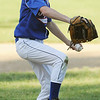 Beverly:<br /> Topsfield's Brandon LaFata pitches during the District 15 Little League all-star tournament. Danvers American played Topsfield at Harry Ball Field in Beverly <br /> Photo by Ken Yuszkus/Salem News, Wednesday, June 29, 2011.