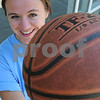 Peabody:<br /> Bridget Dullea will be participating in the Agganis Women's Basketball Classic on July13th.<br /> Photo by Ken Yuszkus/Salem News, Monday, July 6, 2009.