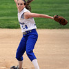 Danvers:<br /> Danvers' pitcher , Kendall Meehan, pitches during the North Reading at Danvers Division 2 North first round state tournament game.<br /> Photo by Ken Yuszkus/Salem News, Thursday, June 2, 2011.