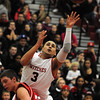 Salem:<br /> Salem's Antonio Reyes shoots the ball for the net during the Burlington at Salem boys basketball game in first round of Division 2 North state playoffs.<br /> Photo by Ken Yuszkus/Salem News, Tuesday, March 1, 2011.