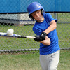Topsfield:<br /> Henry Barrett, of the Topsfield Little League, gets some batting practice during practice for the District 15 tourney.<br /> Photo by Ken Yuszkus/Salem News, Tuesday, June 28, 2011.
