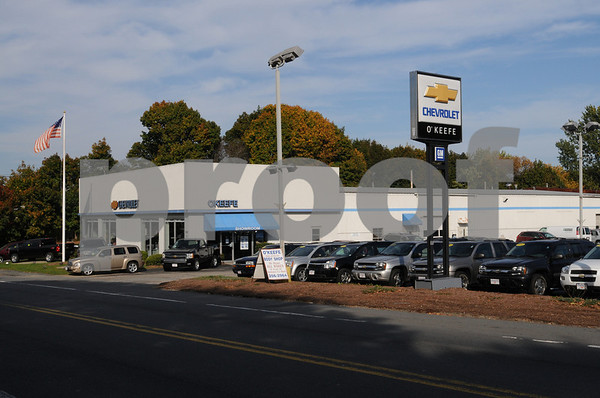 Ipswich:<br /> O'Keefe Chevrolet is closing.<br /> Photo by Ken Yuszkus/Salem News, Tuesday, October 14, 2008.