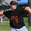 Beverly:<br /> Beverly's pitcher Cam Rogers replaced Dan Cashman during the Gloucester at Beverly Division 2 North playoff quarterfinal baseball game.<br /> Photo by Ken Yuszkus/Salem News, Monday, June 6, 2011.