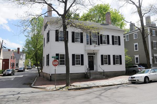 Salem:<br /> 13 Chestnut Street in Salem.<br /> Photo by Ken Yuszkus/Salem News, Tuesday, April 24, 2012.