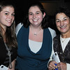 Danvers:<br /> From left, Angela Eze of Peabody, Katie Alboth of Salem, and Mary Velluto of Peabody, attend the Danvers Educational Enrichment Partnership's 13th Wine and Food Tasting at the Danversport Yacht Club.<br /> Photo by Ken Yuszkus/Salem News, Thursday, October 13, 2011.