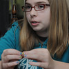 Salem:<br /> Bridget Ayers, 12-year-old Salem resident, was so inspired by a local blogger that she raised money and recently traveled to Siberia for 2 weeks to volunteer at an orphanage.<br /> Photo by Ken Yuszkus/Salem News, Thursday, June 23, 2011.