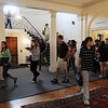 Hamilton:<br /> Students pass through the foyer of Pingree School. Pingree School is celebrating its 50th anniversary.<br /> Photo by Ken Yuszkus/Salem News, Monday,  September 13, 2010.