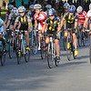 Salem:<br /> The start of the second race, Elite Womens, during the Witches Cup bicycle races around the common.<br /> Photo by Ken Yuszkus/Salem News, Wednesday, August 10, 2011.