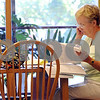 Peabody:<br /> Kaellen D'Amour of Peabody does research for a biography that she is writing while at the Peabody Institute Library.<br /> Photo by Ken Yuszkus/Salem News Monday, September 08, 2008