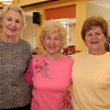 Peabody:<br /> From left, Carmen Patti of Peabody, Patsy LeBlanc of Danvers, and Dina Corriveau of Salem, at the County-western line dancing at the Peter A. Torigian Community Life Center.<br /> Photo by Ken Yuszkus/Salem News, Tuesday, December 29, 2009.