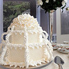 Beverly:<br /> Barbara Bourdo designed the displays for the historical exhibit about the Gold Coast summer houses for the rich that have become buildings at Endicott college. The wedding cake was created by Cile Bellfleur-Burbidge.<br /> Photo by Ken Yuszkus/Salem News, Monday, February 14, 2011.