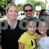 Peabody:<br /> In back, Tara and Joe Silva of Peabody, and from left in front are Chloe Dragon of Salem and Molly Eagar of Peabody at Peabody's 26th annual International Festival.<br /> Photo by Ken Yuszkus/Salem News, Sunday, September 13, 2009.