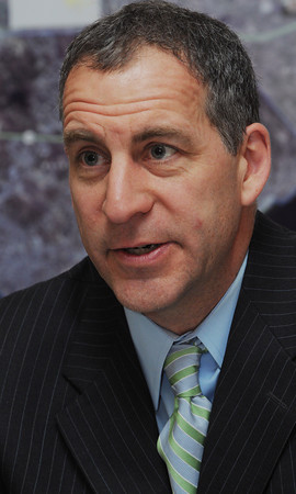 Boston:<br /> Jerry Parisella speaks about being a representative and his time in Iraq. He is at his office at the state capitol.<br /> Photo by Ken Yuszkus/Salem News, Wednesday, April 25, 2012.