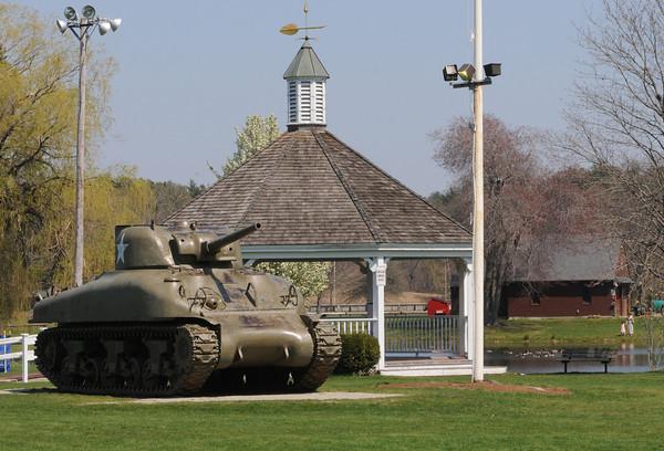 Hamilton:<br /> Patton Park in Hamilton.<br /> Photo by Ken Yuszkus/Salem News, Monday, April 16, 2012.