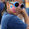 Salem:<br /> Ireonna Scott, of Beverly, is dressed for the Fourth of July activities at the Salem Maritime Site.<br /> Photo by Ken Yuszkus/Salem News, Wednesday, July 4,  2012.
