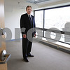 Salem:<br /> Tom Kent, vice president of Shetland Properties, shows one of the newly finished rooms in the Small Business Center at Shetland Park.<br /> Photo by Ken Yuszkus/Salem News, Thursday, August 6, 2009.