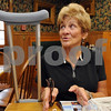 Salem;<br /> Marilyn Lord speaks about the election while eating breakfast at Red's Sandwhich Shop the morning after the election.<br /> Photo by Ken Yuszkus/Salem News, Wednesday, November 5, 2008.