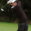 Peabody:<br /> St. John's Prep's Matt Bullock hits the ball off the 3rd tee during the Catholic Memorial at St. John's Prep golf match held at Salem Country Club.<br /> Photo by Ken Yuszkus/Salem News, Thursday, October 13, 2011.