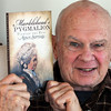 MARBLEHEAD:<br /> Fred Bauer, author of the new book, Marblehead's Pygmalion Finding the Real Agnes Surriage, which is about Marblehead's legend Agnes Surriage, fisherman's daughter who married rich.<br /> Photo by Ken Yuszkus/Salem News, Thursday,  December 9, 2010.