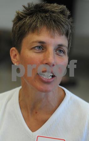 Salem:<br /> Molly Robinson is a new Salem teacher.<br /> Photo by Ken Yuszkus/Salem News, Tuesday, September 1, 2009.