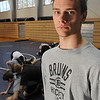 Danvers:<br /> TJ Crabtree is a senior wrestler at St. John's Prep who just won the Division 1 North individual tournament at 140 pounds.<br /> Photo by Ken Yuszkus/Salem News, Tuesday, February 15, 2011.
