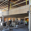 Danvers:<br /> The dinningroom area of Colonial Gardens which is a new retirement community of 155 apartments in a four-story building that is scheduled to open in the fall.<br /> Photo by Ken Yuszkus/Salem News, Monday, March 28, 2011.