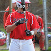 Salem;<br /> Greg Spelliotis gets some batting practice before the Salem High baseball scrimmage with North Reading.<br /> Photo by Ken Yuszkus/Salem News, Thursday, April 5, 2012.