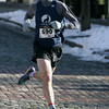 Salem:<br /> James Pawlicki of Lynn finishes first in the 6th annual Wicked Frosty Four Road Race.<br /> Photo by Ken Yuszkus/The Salem News, Tuesday, January 1, 2013.