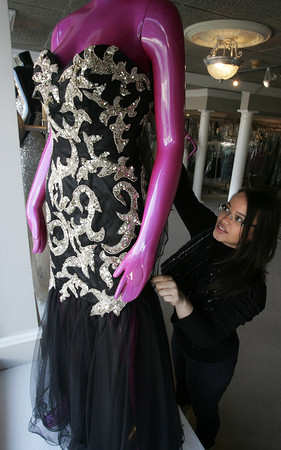 Danvers:<br /> Katherina Mena is the owner of Glitterati. She recently opened a new location in Danvers. <br /> Photo by Ken Yuszkus/The Salem News, Monday, January 7, 2013.