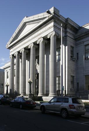 Salem:<br /> Salem Probate and Family Courthouse.<br /> Photo by Ken Yuszkus/The Salem News, Monday, January 14, 2013.