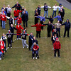 "Peabody:<br /> Residents and employees at Brooksby Village are wearing red white and blue and forming the words ""Go Pats"" outside behind the clubhouse for a photograph.<br /> Photo by Ken Yuszkus/Salem News Tuesday, January 15, 2013."