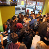 Salem: Orange Leaf in Salem was packed with people for the launch party of the Point Neighborhood's Community PlanIt Game on Friday afternoon. David Le/Salem News